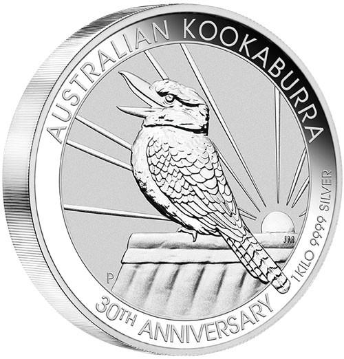 Kookaburra 2020 Silber 1 kg