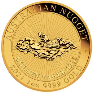 Nugget Australien 2021 Gold 1 oz