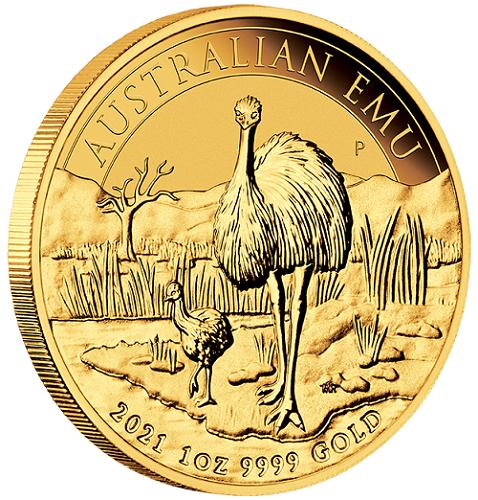 Australien Emu 2021 Gold 1 oz