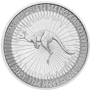 Känguru Perth Mint Silber 1 oz 2021