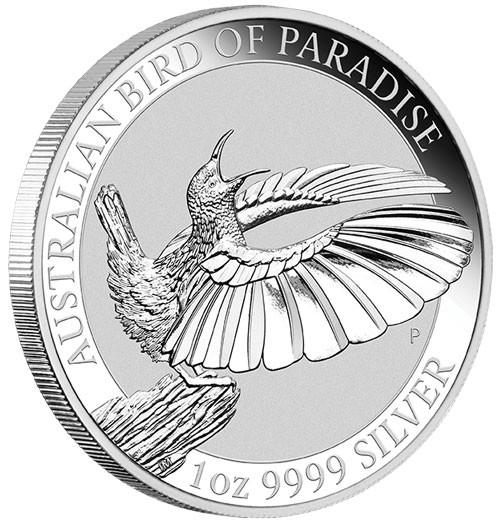 Victoria Paradiesvogel Australien 2018 Silber 1 oz