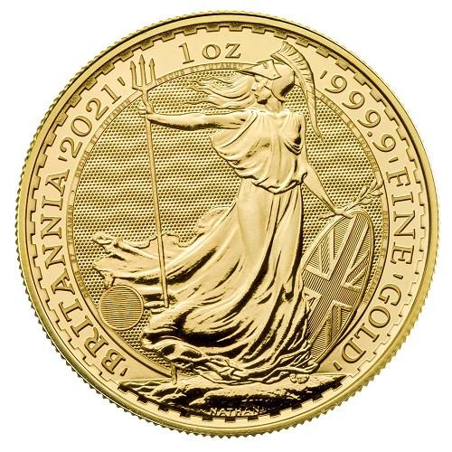 Britannia Gold 1 oz 2021