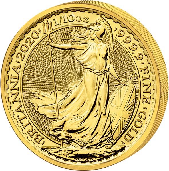 Britania Gold 1/10 oz 2020