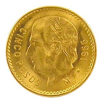 Centenario 5 Pesos 1955