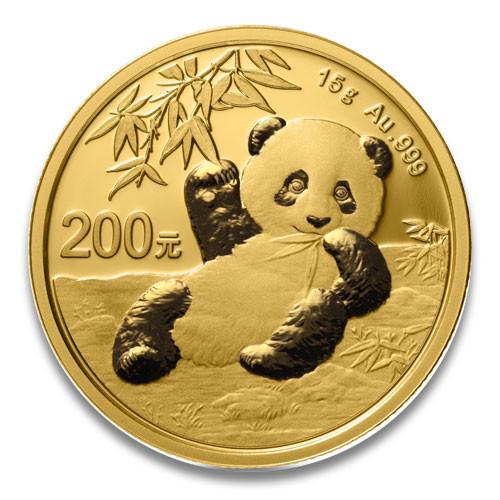 China Panda Gold 15 g 2020