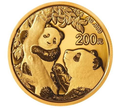 China Panda Gold 15 g 2021