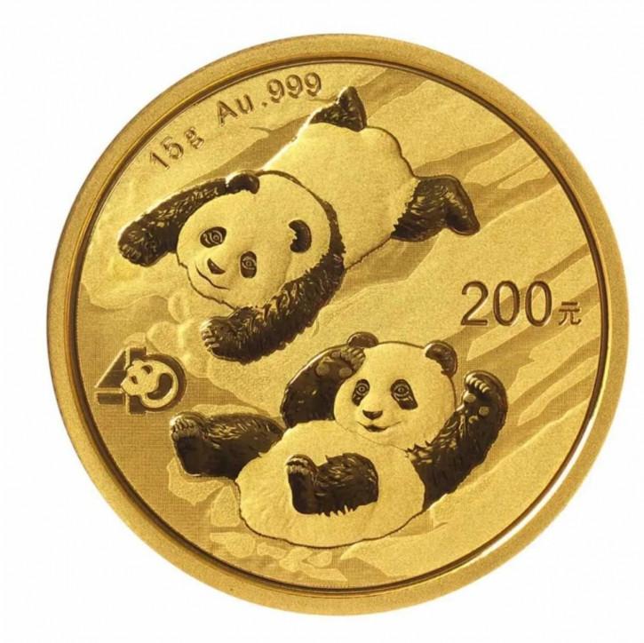 China Panda Gold 15 g 2022