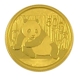 China Panda Gold 1/10 Unze 2015