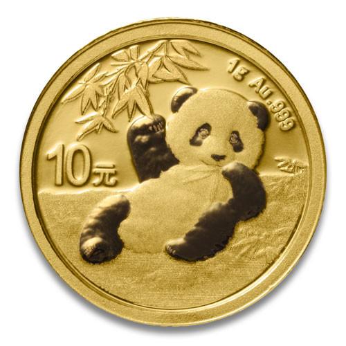 China Panda Gold 1 g 2020
