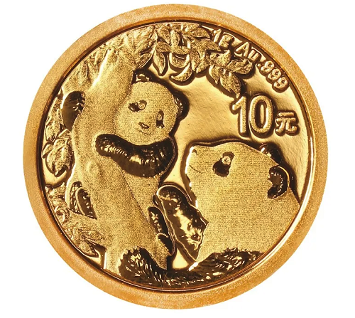 China Panda Gold 1 g 2021