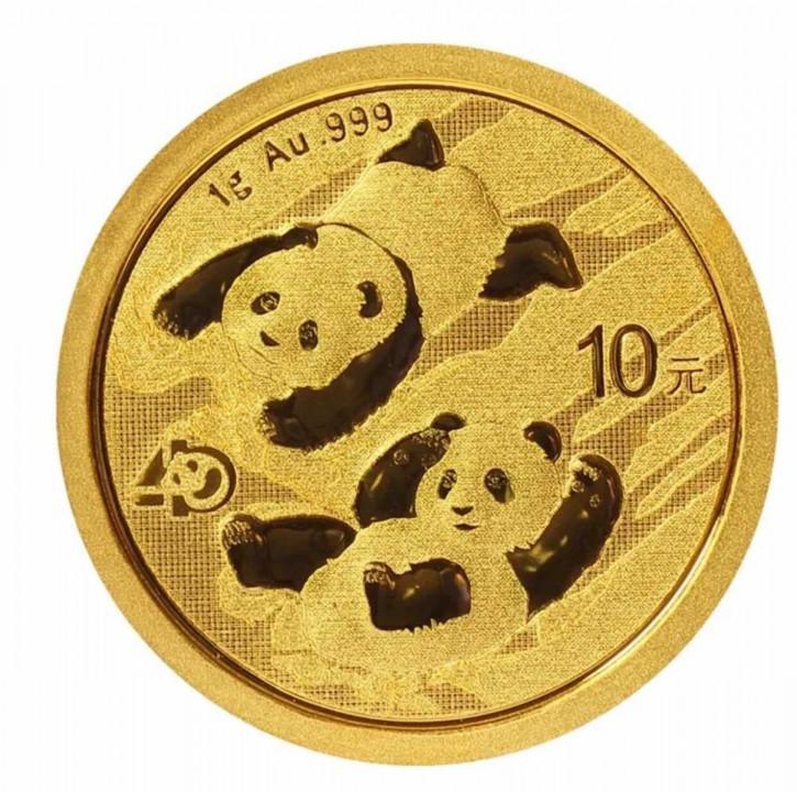 China Panda Gold 1 g 2022