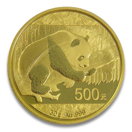 China Panda Gold 30 g 2016