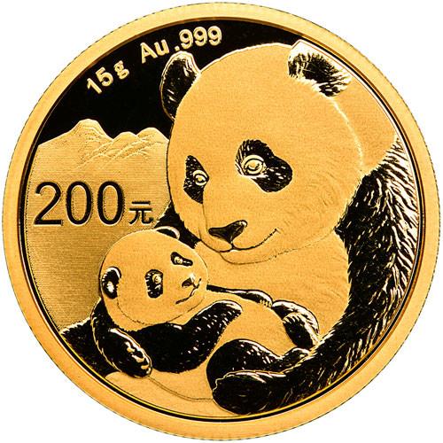 China Panda Gold 15 g 2019