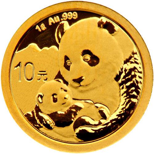 China Panda Gold 1 g 2019