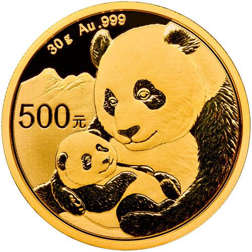 China Panda Gold 30 g 2019