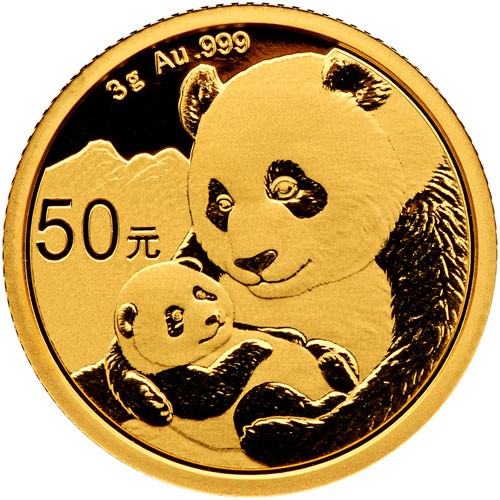 China Panda Gold 3 g 2019