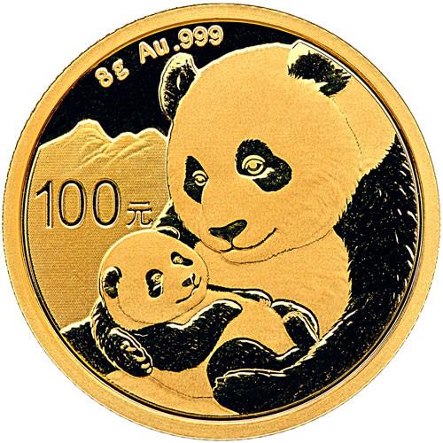 China Panda Gold 8 g 2019