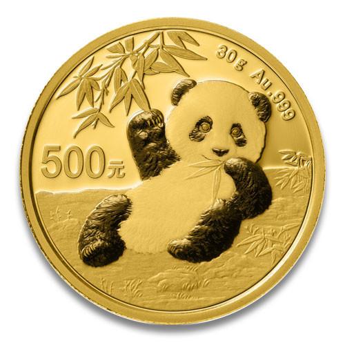 China Panda Gold 30 g 2020