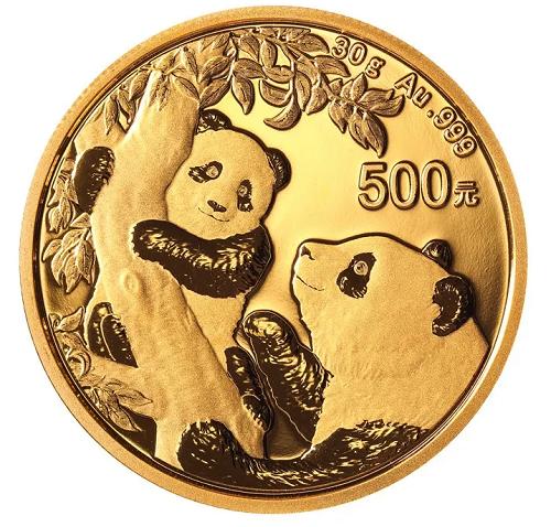 China Panda Gold 30 g 2021