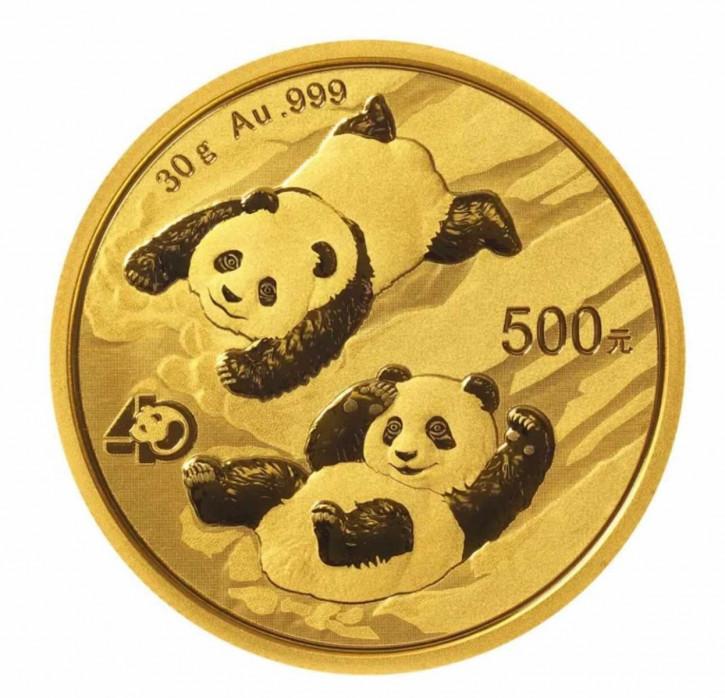 China Panda Gold 30 g 2022