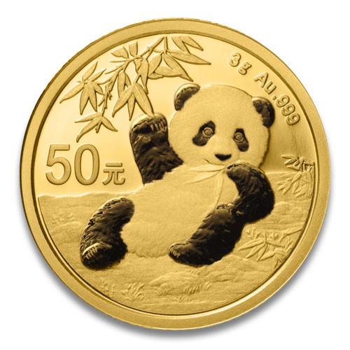 China Panda Gold 3 g 2020