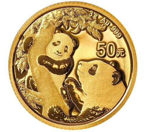 China Panda Gold 3 g 2021