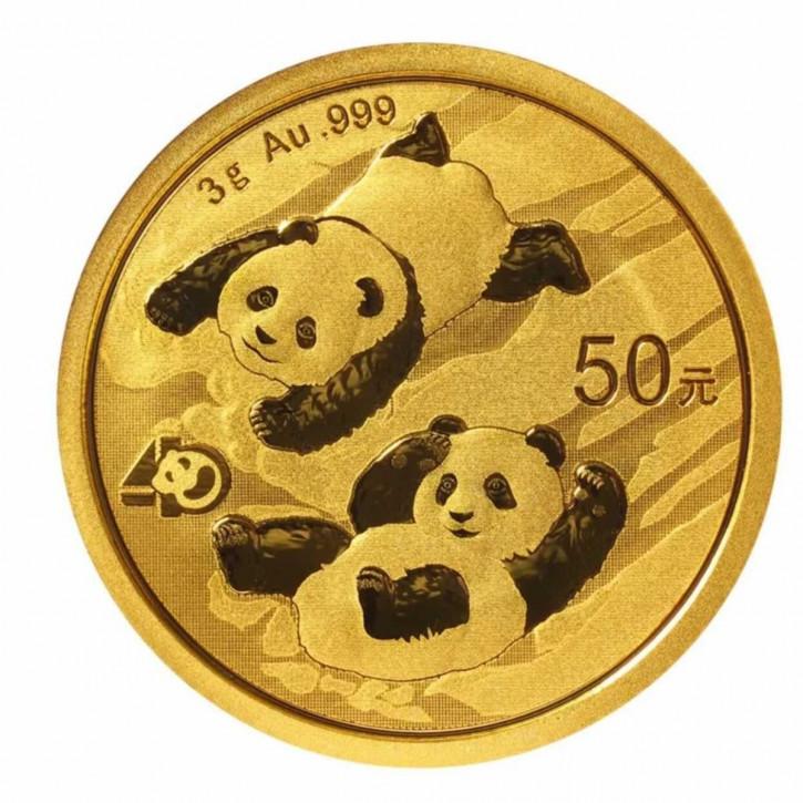 China Panda Gold 3 g 2022