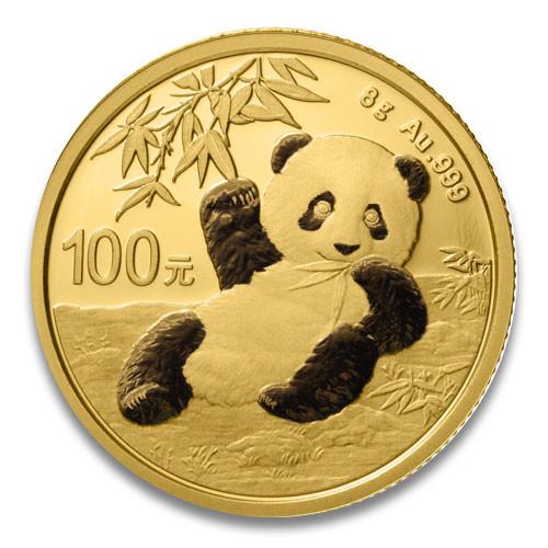 China Panda Gold 8 g 2020
