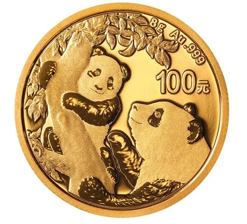 China Panda Gold 8 g 2021