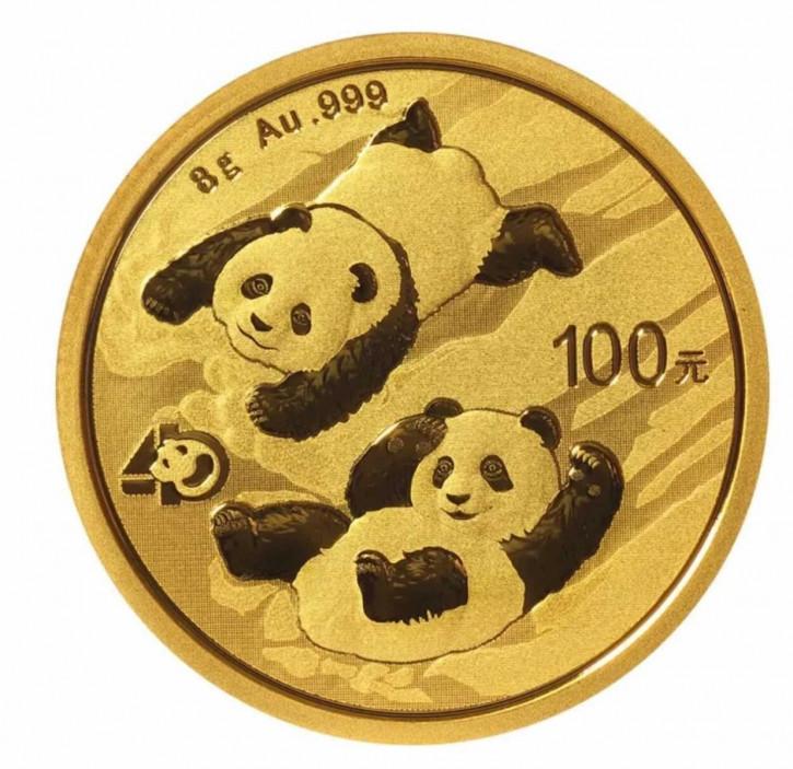 China Panda Gold 8 g 2022