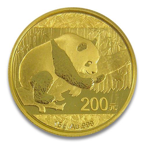 China Panda Gold 15 g 2016
