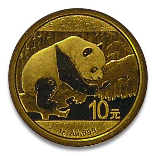 China Panda Gold 1 g 2016