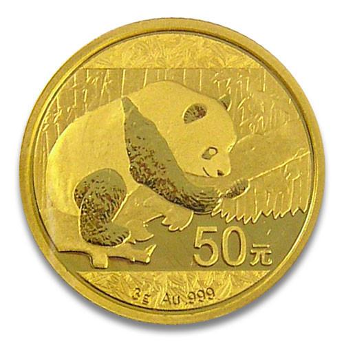 China Panda Gold 3 g 2016