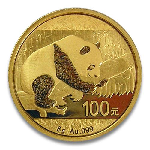 China Panda Gold 8 g 2016