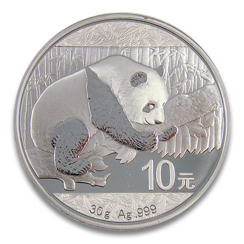 China Panda Silber 30 g 2016
