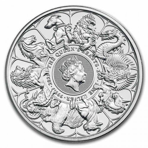Queens Beast Completer Coin Silber 2 oz 2021