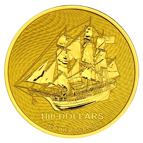 Cook Island Gold 1 oz 2020