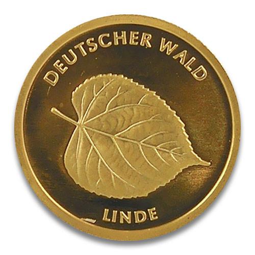 20 Euro Deutscher Wald - Linde 2015 Prägestätte D, F, G oder J 1/8 oz