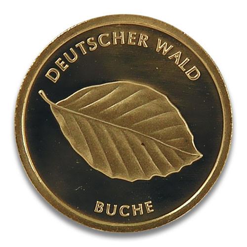 20 Euro Deutscher Wald - Buche 2011 Prägestätte D, F, G oder J 1/8 oz