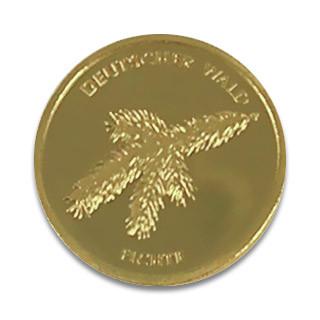 20 Euro Deutscher Wald - Fichte 2012 Prägestätte A 1/8 oz
