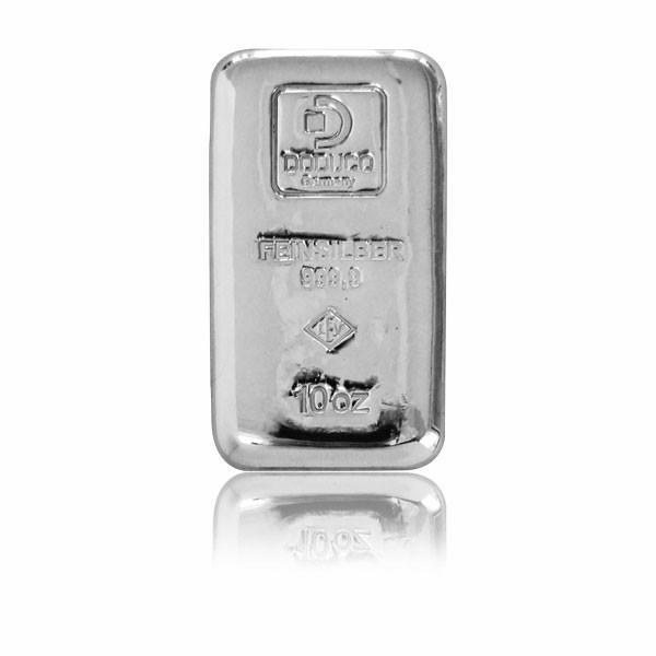 Silberbarren Doduco-LEV 10 oz