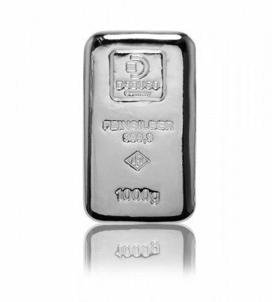 Silberbarren Doduco-LEV 1 kg