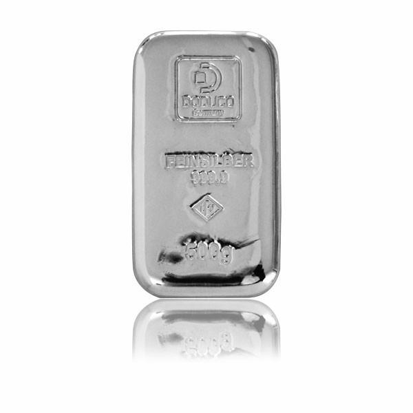 Silberbarren Doduco-LEV 500 g