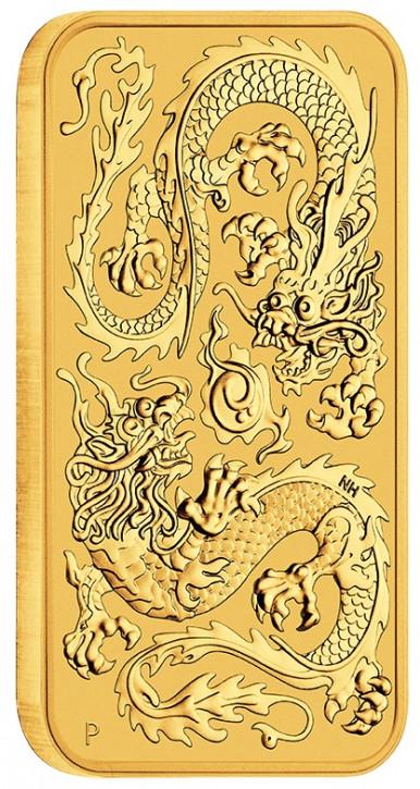 Dragon Rectangular Australien 2020 Gold 1 oz