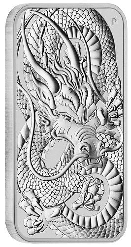 Dragon Rectangular Australien 2021 Silber 1 oz