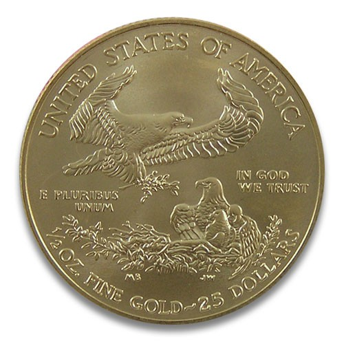 American Eagle Gold 1/2 oz 2020