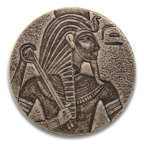 Egyptian Relic Series - King Tut Silber 5 oz 2016 Antique Finish