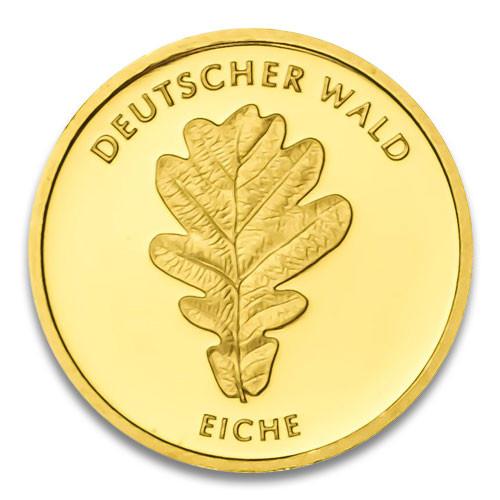 20 Euro Deutscher Wald - Eiche 2010 Prägestätte D, F, G oder J 1/8 oz
