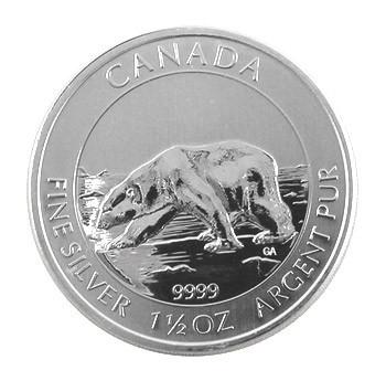 Kanada Polarbär Silber 1,5 oz 2013