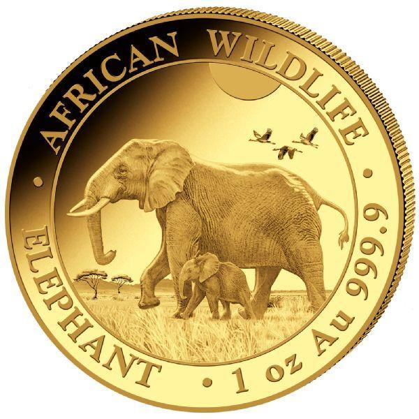Somalia Elefant 2022 Gold 1 oz